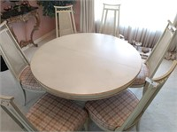 Dixon Powdermaker Table & 8 Chairs