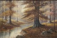 INDIANA ARTIST BRYAN TARLTON (WOODLAND MONARCH)