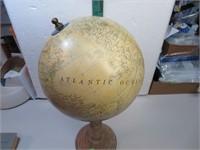 "Vintage Globe 15"" x 8"""