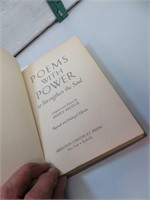 Antique 1909 Poems with Power Book
