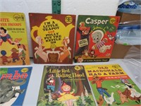 8 Vintage Disney 78 RPM Children's Records NICE