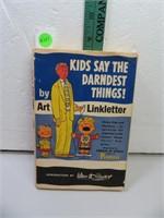 Vintage 1957 Kids Say the Darndest Things by