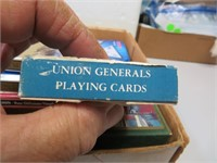 Flat of Card Games, Triominos, Ceramics & more