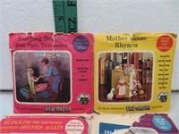 Vintage View Master Disk Packs with 12 Disks