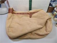 Vintage Time Canvas Book Bag