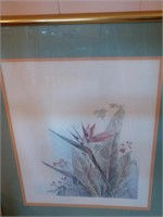 Mary Bertrand Floral Prints Signed Numbered