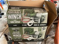 Radio Controlled 12 Volt Portable Winch - NIB