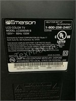Emerson 32 In Lcd Color T.v. W/ Remote
