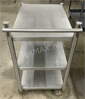 2-shelf Stainless Steel  Rolling Cart