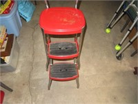 """Vtg Stylaire Step Stool 24&1/2"""" x 13&3/4"""" x11&1/2"""""""