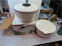 OXO Good Grips Salad Spinner with Extra Bowl &