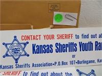 1981 Kansas License Plate with Envelope