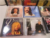 12 CD's Classical Yanni and more