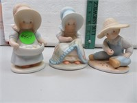 """3 Circle of Friends Figurines 3&1/2"""""""