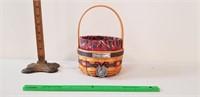Large Longaberger Basket 30yr Collection