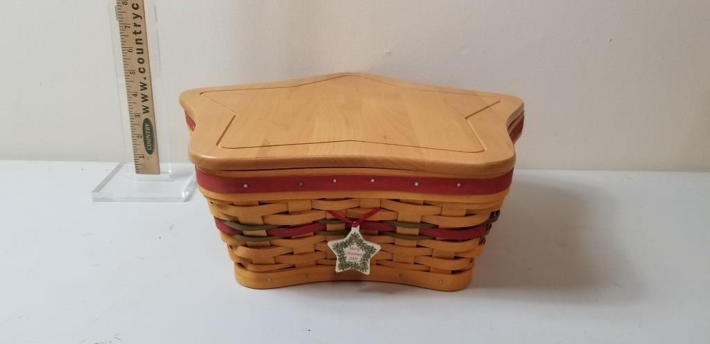 Large Longaberger Basket 30yr Collection
