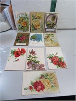 10 Antique Post Cards 1909, 1910 & more