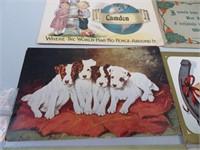 6 Antique Post Cards (1910 era)