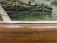 """2 Vintage Prints of Paris Signed 8&1/2"""" x 6&1/2"""""""