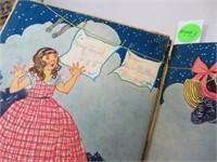 Antique 1931 Once Apon a Monday Children's Book