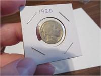 1920 Buffalo Nickel