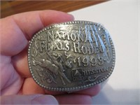 1993Youth Hesston National Finals Rodeo BeltBuckle
