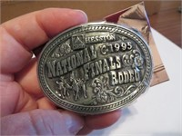 1995Youth Hesston National Finals Rodeo BeltBuckle