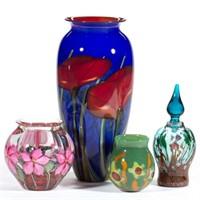Sample of studio glass