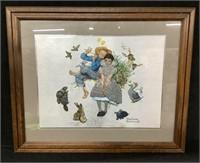 Norman Rockwell Framed Art