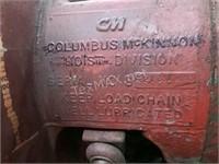 C M Cyclone Chain Hoist