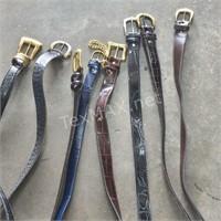 (8) Assorted Ladies Belts