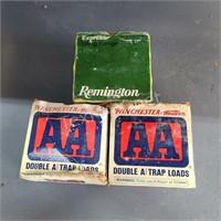 (3) Winchester and Remington 12Ga Ammo