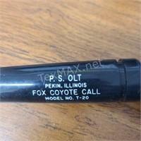 PS Olt Fox Coyote Call