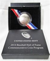 Lot of 2 - 2014 Baseball Hall of Fame Half Dollars