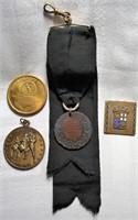 Lot of 4 Vintage Medals