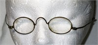 19th Century Brass Wire Frame Glasses