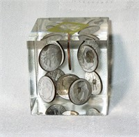 Dime Paper Weight