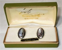 Sterling Sarah Coventry Cameo Earrings