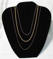 Sarah Coventry & Monet Signed Costume Necklaces