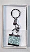 Michael Kors Lock Keychain in Box