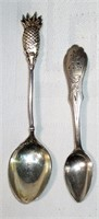 Pair of Early Hallmarked Spoons