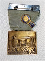 American Legion Pin and Horse on Train Medal