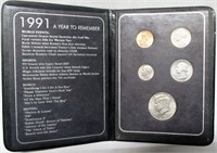 1991 That Special Year Coin Type Set