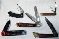 Lot of 5 Pocket Knives Some Vintage