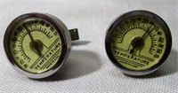 Pair of Vintage Thermometer Cuff Links