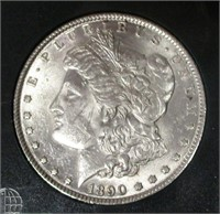 1890 Morgan Silver Dollar #2