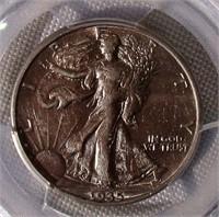 1935-D Walking Liberty Half Dollar PCGS Graded