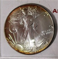 1987 American Eagle Silver Dollar #1