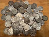 150+ Morgan & Peace Dollars