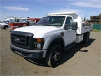 2008 Ford F550 S/A Dump Truck